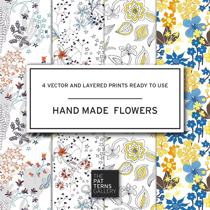 Hand made flowers PP007