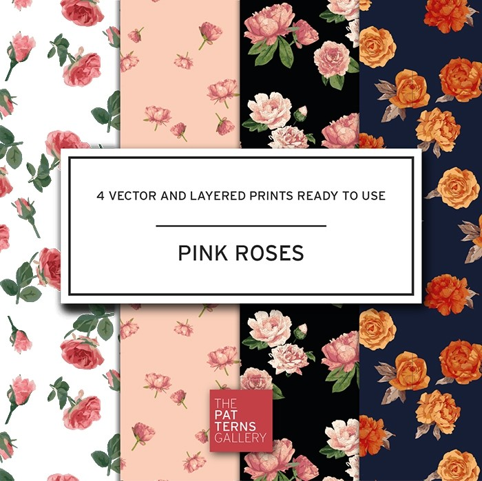Pink roses PP011